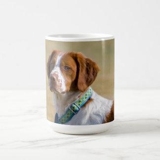 Brittany dog beautiful photo coffee mug