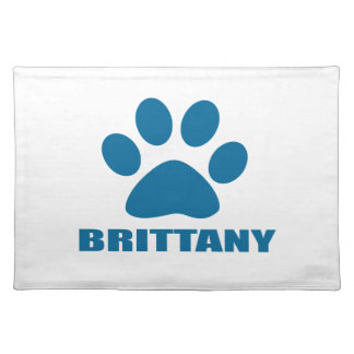 BRITTANY DOG DESIGNS PLACEMAT