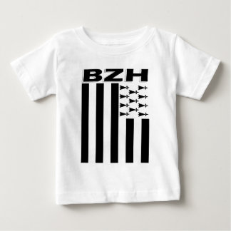 Brittany flag baby T-Shirt