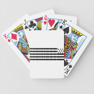 Brittany flag bicycle playing cards