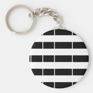 Brittany flag keychain