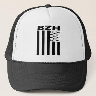 Brittany flag trucker hat