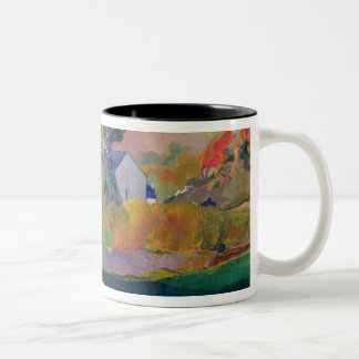 Brittany Landscape: the David Mill, 1894 Two-Tone Coffee Mug