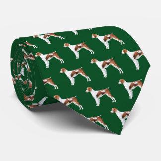 Brittany Neck Tie - Dark Green