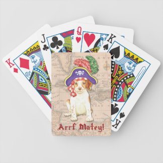 Brittany Pirate Bicycle Playing Cards