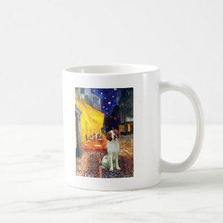 Brittany Spaniel 3 - Terrace Cafe Coffee Mug