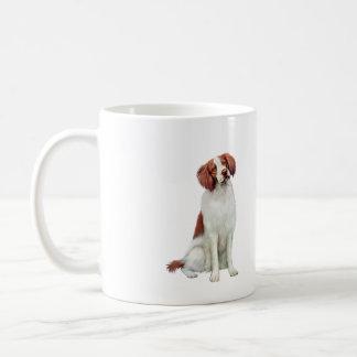 Brittany Spaniel (A).png Coffee Mug