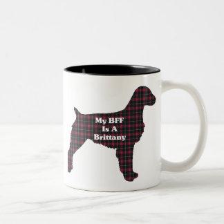 Brittany Spaniel BFF Mug