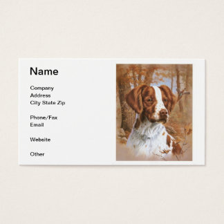 Brittany Spaniel Business Cards