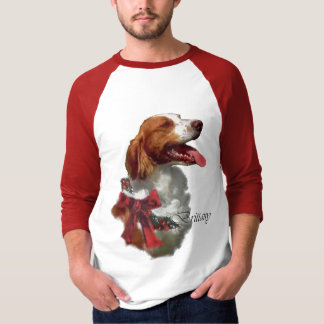 Brittany Spaniel Christmas Gifts T-Shirt