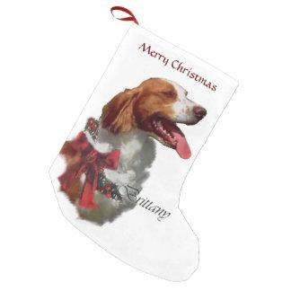Brittany Spaniel Christmas Small Christmas Stocking