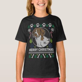 Brittany Spaniel Dog Breed Ugly Christmas Sweater