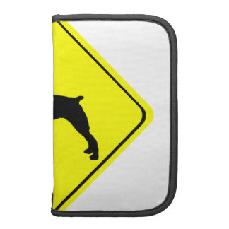 Brittany Spaniel Dog Caution or Crossing Sign Planner