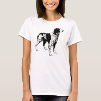 brittany spaniel drawing T-Shirt