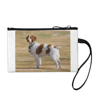 brittany-spaniel full change purse