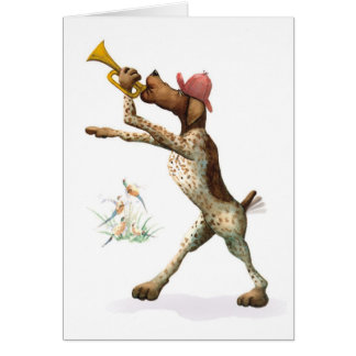 Brittany Spaniel - Happy Birthday Greeting Card