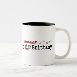 Brittany Spaniel (I Love) Mug