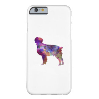 Brittany Spaniel in watercolor Barely There iPhone 6 Case