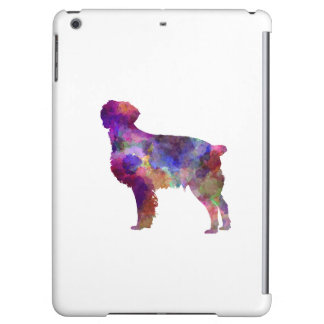 Brittany Spaniel in watercolor iPad Air Cases