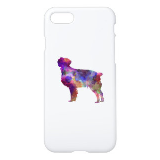 Brittany Spaniel in watercolor iPhone 8/7 Case
