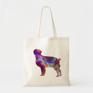 Brittany Spaniel in watercolor Tote Bag