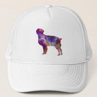 Brittany Spaniel in watercolor Trucker Hat