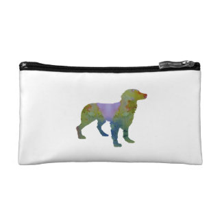 Brittany Spaniel Makeup Bags