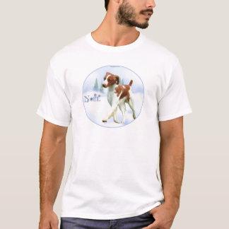 Brittany Spaniel Noel T-Shirt