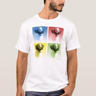 Brittany Spaniel Pop Art T-Shirt