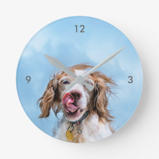 Brittany With Attitude Wall Clock