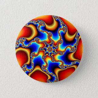 Brittle - Fractal 2 Inch Round Button