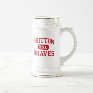 Britton - Braves - High - Britton South Dakota Beer Stein