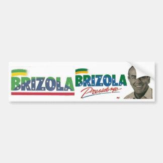 Brizola adhesive President 1989 Bumper Sticker