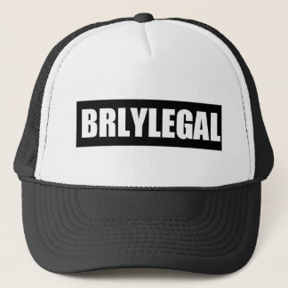 BRLY-FITTED TRUCKER HAT