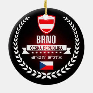Brno Ceramic Ornament