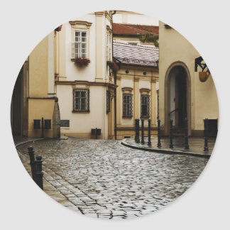 Brno, Czech Republic Classic Round Sticker