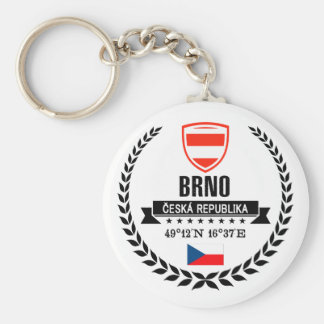 Brno Keychain