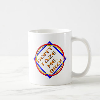 BRO! CLASSIC WHITE COFFEE MUG