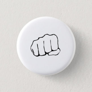 Bro Fist 1 Inch Round Button