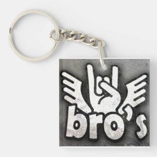 bro keychain