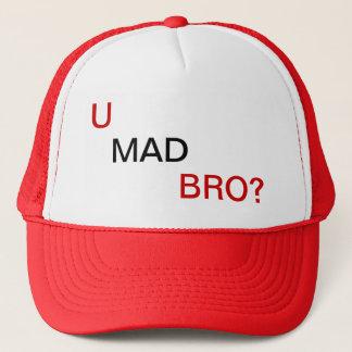 Bro, U mad? Trucker Hat