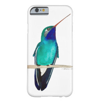 Broad-billed Hummingbird Perched Barely There iPhone 6 Case