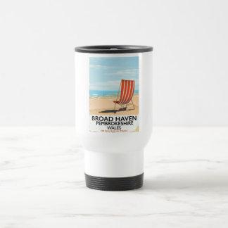 Broad Haven, Pembrokeshire,Wales seaside Travel Mug