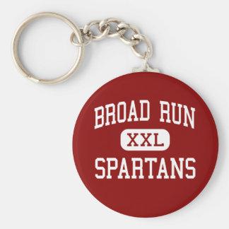 Broad Run - Spartans - High - Ashburn Virginia Keychain