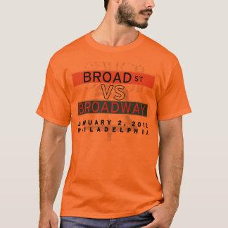 Broad Street VS Broadway Orange Shirt