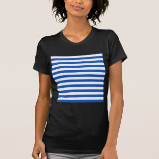 Broad Stripes - White and Sapphire Shirts