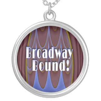 Broadway Bound! Silver Plated Necklace