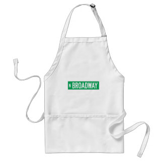 Broadway, Chicago, IL Street Sign Aprons