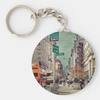 broadway keychain