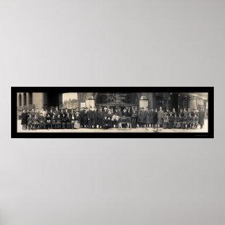 Broadway Kismet Photo 1914 Poster